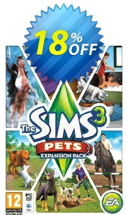 The Sims 3: Pets Expansion Pack - PC/Mac  Coupon discount The Sims 3: Pets Expansion Pack (PC/Mac) Deal - The Sims 3: Pets Expansion Pack (PC/Mac) Exclusive offer for iVoicesoft