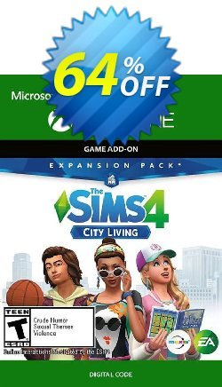 The Sims 4 City Living Xbox One - US  Coupon discount The Sims 4 City Living Xbox One (US) Deal 2021 CDkeys - The Sims 4 City Living Xbox One (US) Exclusive Sale offer for iVoicesoft
