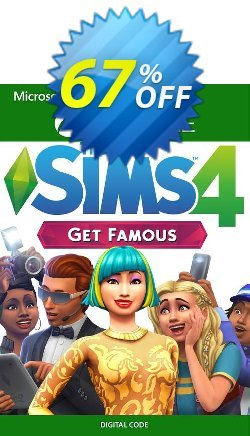 The Sims 4 - Get Famous Xbox One - UK  Coupon discount The Sims 4 - Get Famous Xbox One (UK) Deal 2021 CDkeys - The Sims 4 - Get Famous Xbox One (UK) Exclusive Sale offer for iVoicesoft