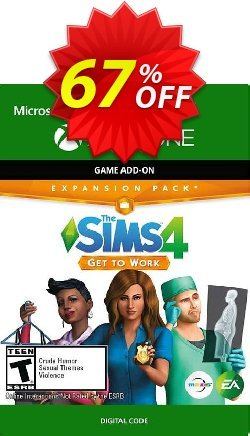 The Sims 4 Get to Work Xbox One - US  Coupon discount The Sims 4 Get to Work Xbox One (US) Deal 2021 CDkeys - The Sims 4 Get to Work Xbox One (US) Exclusive Sale offer for iVoicesoft
