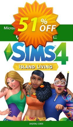 The Sims 4 - Island Living Xbox One Coupon discount The Sims 4 - Island Living Xbox One Deal 2021 CDkeys - The Sims 4 - Island Living Xbox One Exclusive Sale offer for iVoicesoft