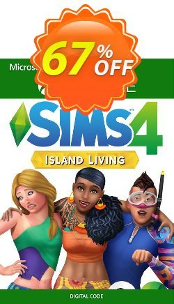 The Sims 4 Island Living Xbox One - US  Coupon discount The Sims 4 Island Living Xbox One (US) Deal 2021 CDkeys - The Sims 4 Island Living Xbox One (US) Exclusive Sale offer for iVoicesoft