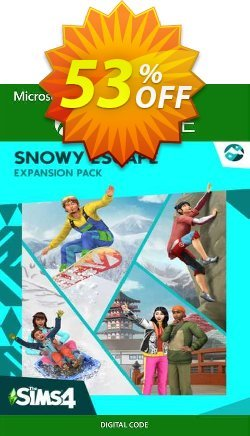 The Sims 4 - Snowy Escape Expansion Pack Xbox One - UK  Coupon discount The Sims 4 - Snowy Escape Expansion Pack Xbox One (UK) Deal 2021 CDkeys - The Sims 4 - Snowy Escape Expansion Pack Xbox One (UK) Exclusive Sale offer for iVoicesoft