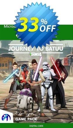 The Sims 4 Star Wars: Journey to Batuu Game Pack Xbox One - UK  Coupon discount The Sims 4 Star Wars: Journey to Batuu Game Pack Xbox One (UK) Deal 2021 CDkeys - The Sims 4 Star Wars: Journey to Batuu Game Pack Xbox One (UK) Exclusive Sale offer for iVoicesoft