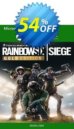 Tom Clancy's Rainbow Six Siege - Gold Edition Xbox One - WW  Coupon discount Tom Clancy's Rainbow Six Siege - Gold Edition Xbox One (WW) Deal 2021 CDkeys. Promotion: Tom Clancy's Rainbow Six Siege - Gold Edition Xbox One (WW) Exclusive Sale offer for iVoicesoft