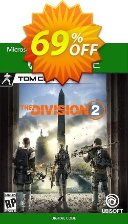 The Division 2 Xbox One - EU  Coupon discount The Division 2 Xbox One (EU) Deal 2021 CDkeys - The Division 2 Xbox One (EU) Exclusive Sale offer for iVoicesoft