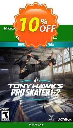Tony Hawk's Pro Skater 1 + 2 Deluxe Edition Xbox One - EU  Coupon discount Tony Hawk's Pro Skater 1 + 2 Deluxe Edition Xbox One (EU) Deal 2021 CDkeys - Tony Hawk's Pro Skater 1 + 2 Deluxe Edition Xbox One (EU) Exclusive Sale offer for iVoicesoft