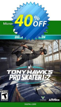 Tony Hawk's Pro Skater 1 + 2 Deluxe Edition Xbox One - UK  Coupon discount Tony Hawk's Pro Skater 1 + 2 Deluxe Edition Xbox One (UK) Deal 2021 CDkeys - Tony Hawk's Pro Skater 1 + 2 Deluxe Edition Xbox One (UK) Exclusive Sale offer for iVoicesoft