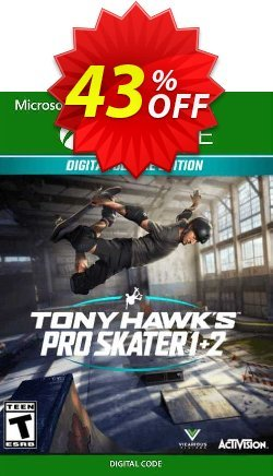 Tony Hawk's Pro Skater 1 + 2 Deluxe Edition Xbox One - US  Coupon discount Tony Hawk's Pro Skater 1 + 2 Deluxe Edition Xbox One (US) Deal 2021 CDkeys. Promotion: Tony Hawk's Pro Skater 1 + 2 Deluxe Edition Xbox One (US) Exclusive Sale offer for iVoicesoft