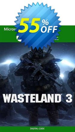 Wasteland 3 Xbox One - UK  Coupon discount Wasteland 3 Xbox One (UK) Deal 2021 CDkeys - Wasteland 3 Xbox One (UK) Exclusive Sale offer for iVoicesoft