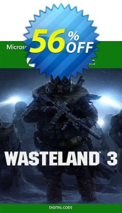 Wasteland 3 Xbox One - US  Coupon discount Wasteland 3 Xbox One (US) Deal 2021 CDkeys. Promotion: Wasteland 3 Xbox One (US) Exclusive Sale offer for iVoicesoft