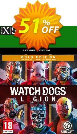Watch Dogs: Legion - Gold Edition Xbox One/Xbox Series X|S - EU  Coupon discount Watch Dogs: Legion - Gold Edition Xbox One/Xbox Series X|S (EU) Deal 2021 CDkeys - Watch Dogs: Legion - Gold Edition Xbox One/Xbox Series X|S (EU) Exclusive Sale offer for iVoicesoft