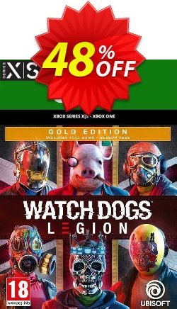 Watch Dogs: Legion - Gold Edition  Xbox One/Xbox Series X|S - UK  Coupon discount Watch Dogs: Legion - Gold Edition  Xbox One/Xbox Series X|S (UK) Deal 2021 CDkeys - Watch Dogs: Legion - Gold Edition  Xbox One/Xbox Series X|S (UK) Exclusive Sale offer for iVoicesoft