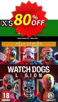 Watch Dogs: Legion - Gold Edition Xbox One/Xbox Series X|S - US  Coupon discount Watch Dogs: Legion - Gold Edition Xbox One/Xbox Series X|S (US) Deal 2021 CDkeys - Watch Dogs: Legion - Gold Edition Xbox One/Xbox Series X|S (US) Exclusive Sale offer for iVoicesoft