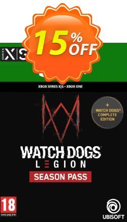 Watch Dogs: Legion Season Pass Xbox One/Xbox Series X|S Coupon discount Watch Dogs: Legion Season Pass Xbox One/Xbox Series X|S Deal 2021 CDkeys - Watch Dogs: Legion Season Pass Xbox One/Xbox Series X|S Exclusive Sale offer for iVoicesoft