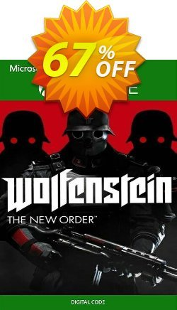 Wolfenstein: The New Order Xbox One - UK  Coupon discount Wolfenstein: The New Order Xbox One (UK) Deal 2021 CDkeys - Wolfenstein: The New Order Xbox One (UK) Exclusive Sale offer for iVoicesoft