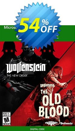 Wolfenstein: The Two Pack Xbox One - UK  Coupon discount Wolfenstein: The Two Pack Xbox One (UK) Deal 2021 CDkeys - Wolfenstein: The Two Pack Xbox One (UK) Exclusive Sale offer for iVoicesoft