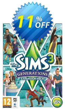 The Sims 3 - Generations Expansion Pack - PC/Mac  Coupon discount The Sims 3 - Generations Expansion Pack (PC/Mac) Deal - The Sims 3 - Generations Expansion Pack (PC/Mac) Exclusive offer for iVoicesoft