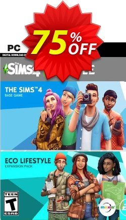 The Sims 4 - Eco Lifestyle Bundle PC Coupon discount The Sims 4 - Eco Lifestyle Bundle PC Deal 2021 CDkeys - The Sims 4 - Eco Lifestyle Bundle PC Exclusive Sale offer for iVoicesoft