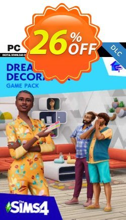 The Sims 4 - Dream Home Decorator Pack PC - DLC Coupon discount The Sims 4 - Dream Home Decorator Pack PC - DLC Deal 2021 CDkeys - The Sims 4 - Dream Home Decorator Pack PC - DLC Exclusive Sale offer for iVoicesoft