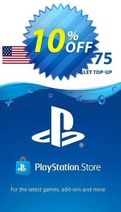 PlayStation Network - PSN Card - 75 USD - USA  Coupon discount PlayStation Network (PSN) Card - 75 USD (USA) Deal 2021 CDkeys. Promotion: PlayStation Network (PSN) Card - 75 USD (USA) Exclusive Sale offer for iVoicesoft
