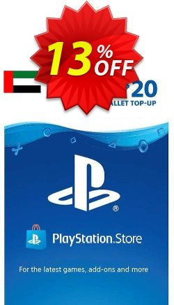 PlayStation Network - PSN Card - 20 USD - UAE  Coupon discount PlayStation Network (PSN) Card - 20 USD (UAE) Deal 2021 CDkeys. Promotion: PlayStation Network (PSN) Card - 20 USD (UAE) Exclusive Sale offer for iVoicesoft
