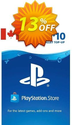 PlayStation Network - PSN Card - 10 CAD - CANADA  Coupon discount PlayStation Network (PSN) Card - 10 CAD (CANADA) Deal 2021 CDkeys. Promotion: PlayStation Network (PSN) Card - 10 CAD (CANADA) Exclusive Sale offer for iVoicesoft