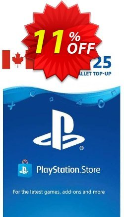 PlayStation Network - PSN Card - 25 CAD - CANADA  Coupon discount PlayStation Network (PSN) Card - 25 CAD (CANADA) Deal 2021 CDkeys. Promotion: PlayStation Network (PSN) Card - 25 CAD (CANADA) Exclusive Sale offer for iVoicesoft