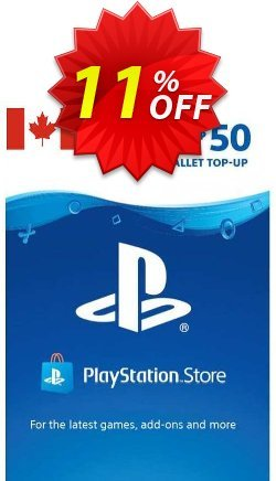 PlayStation Network - PSN Card - 50 CAD - CANADA  Coupon discount PlayStation Network (PSN) Card - 50 CAD (CANADA) Deal 2021 CDkeys. Promotion: PlayStation Network (PSN) Card - 50 CAD (CANADA) Exclusive Sale offer for iVoicesoft
