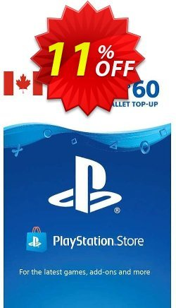 PlayStation Network - PSN Card - 60 CAD - CANADA  Coupon discount PlayStation Network (PSN) Card - 60 CAD (CANADA) Deal 2021 CDkeys. Promotion: PlayStation Network (PSN) Card - 60 CAD (CANADA) Exclusive Sale offer for iVoicesoft