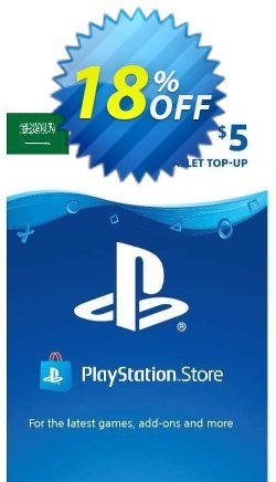 PlayStation Network - PSN Card - 5 USD - KSA  Coupon discount PlayStation Network (PSN) Card - 5 USD (KSA) Deal 2021 CDkeys. Promotion: PlayStation Network (PSN) Card - 5 USD (KSA) Exclusive Sale offer for iVoicesoft