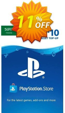 PlayStation Network - PSN Card - 10 USD - KSA  Coupon discount PlayStation Network (PSN) Card - 10 USD (KSA) Deal 2021 CDkeys. Promotion: PlayStation Network (PSN) Card - 10 USD (KSA) Exclusive Sale offer for iVoicesoft