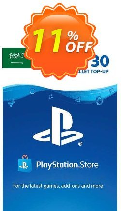 PlayStation Network - PSN Card - 30 USD - KSA  Coupon discount PlayStation Network (PSN) Card - 30 USD (KSA) Deal 2021 CDkeys. Promotion: PlayStation Network (PSN) Card - 30 USD (KSA) Exclusive Sale offer for iVoicesoft