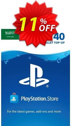 PlayStation Network - PSN Card - 40 USD - KSA  Coupon discount PlayStation Network (PSN) Card - 40 USD (KSA) Deal 2021 CDkeys. Promotion: PlayStation Network (PSN) Card - 40 USD (KSA) Exclusive Sale offer for iVoicesoft