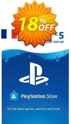 PlayStation Network - PSN Card - 5 EUR - FRANCE  Coupon discount PlayStation Network (PSN) Card - 5 EUR (FRANCE) Deal 2021 CDkeys. Promotion: PlayStation Network (PSN) Card - 5 EUR (FRANCE) Exclusive Sale offer for iVoicesoft