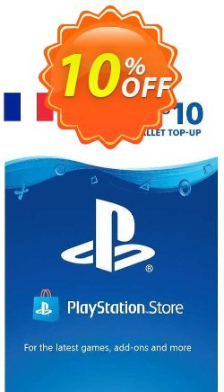 PlayStation Network - PSN Card - 10 EUR - FRANCE  Coupon discount PlayStation Network (PSN) Card - 10 EUR (FRANCE) Deal 2021 CDkeys. Promotion: PlayStation Network (PSN) Card - 10 EUR (FRANCE) Exclusive Sale offer for iVoicesoft
