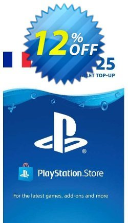 PlayStation Network - PSN Card - 25 EUR - FRANCE  Coupon discount PlayStation Network (PSN) Card - 25 EUR (FRANCE) Deal 2021 CDkeys. Promotion: PlayStation Network (PSN) Card - 25 EUR (FRANCE) Exclusive Sale offer for iVoicesoft