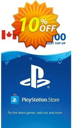 PlayStation Network - PSN Card - 100 CAD - CANADA  Coupon discount PlayStation Network (PSN) Card - 100 CAD (CANADA) Deal 2021 CDkeys. Promotion: PlayStation Network (PSN) Card - 100 CAD (CANADA) Exclusive Sale offer for iVoicesoft