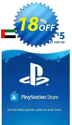 PlayStation Network - PSN Card - 5 USD - UAE  Coupon discount PlayStation Network (PSN) Card - 5 USD (UAE) Deal 2021 CDkeys. Promotion: PlayStation Network (PSN) Card - 5 USD (UAE) Exclusive Sale offer for iVoicesoft