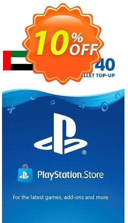 PlayStation Network - PSN Card - 40 USD - UAE  Coupon discount PlayStation Network (PSN) Card - 40 USD (UAE) Deal 2021 CDkeys. Promotion: PlayStation Network (PSN) Card - 40 USD (UAE) Exclusive Sale offer for iVoicesoft