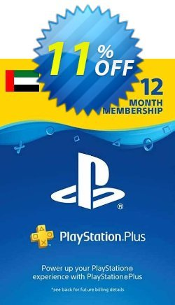 PlayStation Plus - 12 Month Subscription - UAE  Coupon discount PlayStation Plus - 12 Month Subscription (UAE) Deal 2021 CDkeys. Promotion: PlayStation Plus - 12 Month Subscription (UAE) Exclusive Sale offer for iVoicesoft