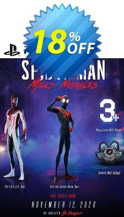 Spider - Man Miles Morales DLC PS5 Coupon discount Spider - Man Miles Morales DLC PS5 Deal 2021 CDkeys. Promotion: Spider - Man Miles Morales DLC PS5 Exclusive Sale offer for iVoicesoft