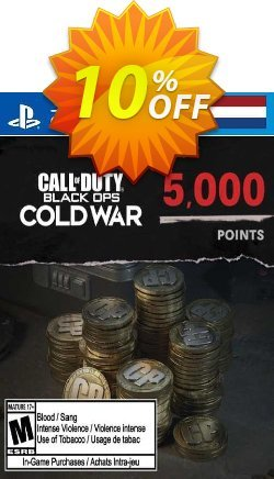 Call of Duty: Black Ops Cold War - 5000 Points PS4/PS5 - Netherlands  Coupon discount Call of Duty: Black Ops Cold War - 5000 Points PS4/PS5 (Netherlands) Deal 2021 CDkeys. Promotion: Call of Duty: Black Ops Cold War - 5000 Points PS4/PS5 (Netherlands) Exclusive Sale offer for iVoicesoft