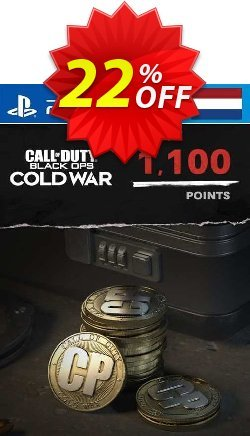 Call of Duty: Black Ops Cold War - 1100 Points PS4/PS5 - Netherlands  Coupon discount Call of Duty: Black Ops Cold War - 1100 Points PS4/PS5 (Netherlands) Deal 2021 CDkeys. Promotion: Call of Duty: Black Ops Cold War - 1100 Points PS4/PS5 (Netherlands) Exclusive Sale offer for iVoicesoft