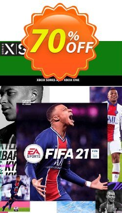 FIFA 21 Xbox One / Xbox Series XS - UK  Coupon discount FIFA 21 Xbox One / Xbox Series XS (UK) Deal 2021 CDkeys. Promotion: FIFA 21 Xbox One / Xbox Series XS (UK) Exclusive Sale offer for iVoicesoft