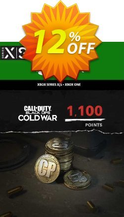Call of Duty: Black Ops Cold War - 1,100 Points Xbox One/ Xbox Series X|S Coupon discount Call of Duty: Black Ops Cold War - 1,100 Points Xbox One/ Xbox Series X|S Deal 2021 CDkeys. Promotion: Call of Duty: Black Ops Cold War - 1,100 Points Xbox One/ Xbox Series X|S Exclusive Sale offer for iVoicesoft