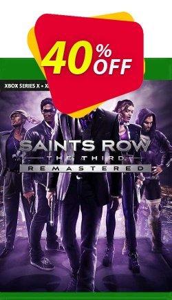 Saints Row The Third Remastered Xbox One - UK  Coupon discount Saints Row The Third Remastered Xbox One (UK) Deal 2021 CDkeys. Promotion: Saints Row The Third Remastered Xbox One (UK) Exclusive Sale offer for iVoicesoft