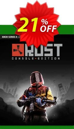 Rust Console Edition Xbox One - US  Coupon discount Rust Console Edition Xbox One (US) Deal 2021 CDkeys - Rust Console Edition Xbox One (US) Exclusive Sale offer for iVoicesoft