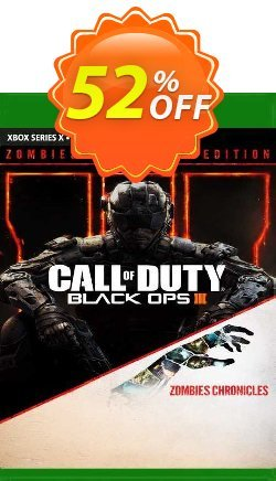 Call of Duty: Black Ops III - Zombies Chronicles Edition Xbox One - EU  Coupon discount Call of Duty: Black Ops III - Zombies Chronicles Edition Xbox One (EU) Deal 2021 CDkeys. Promotion: Call of Duty: Black Ops III - Zombies Chronicles Edition Xbox One (EU) Exclusive Sale offer for iVoicesoft