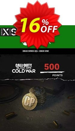 Call of Duty: Black Ops Cold War - 500 Points Xbox One/ Xbox Series X|S Coupon discount Call of Duty: Black Ops Cold War - 500 Points Xbox One/ Xbox Series X|S Deal 2021 CDkeys - Call of Duty: Black Ops Cold War - 500 Points Xbox One/ Xbox Series X|S Exclusive Sale offer for iVoicesoft